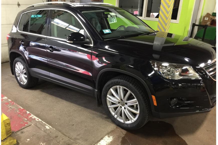Case study: Low –mileage 2009 Volkswagen Tiguan