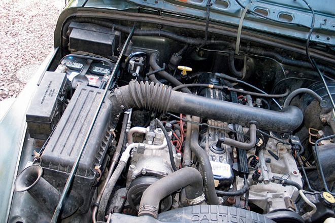 stock engine airbox and filter Jeep
