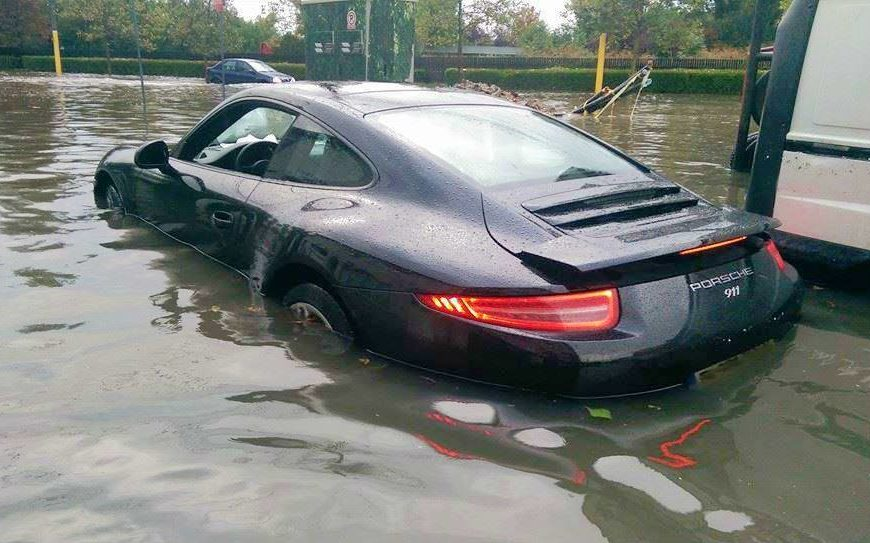 BEWARE OF FLOOD-DAMAGED VEHICLES FOR SALE